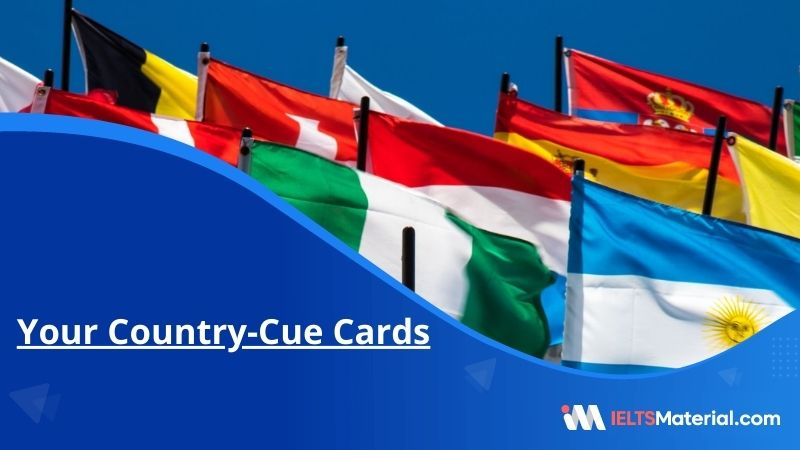 Your Country-Cue Cards